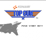 Top Gun title screenshot