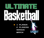 Ultimate Basketball title screenshot