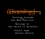 Wizardry - Proving Grounds of the Mad Overlord title screenshot