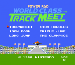 World Class Track Meet title screenshot