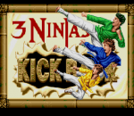 3 Ninjas Kick Back title screenshot