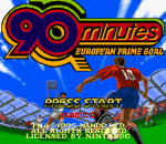 90 Minutes - European Prime Goal title screenshot