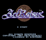 ActRaiser title screenshot