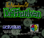 Adventures of Dr. Franken, The title screenshot