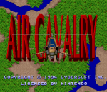 Air Cavalry title screenshot