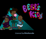 Bebe's Kids title screenshot