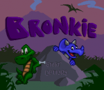 Bronkie the Bronchiasaurus title screenshot