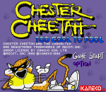 Chester Cheetah - Too Cool to Fool title screenshot