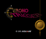 Chrono Trigger title screenshot