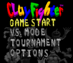 Clay Fighter - Tournament Edition title screenshot