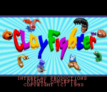 Clay Fighter title screenshot