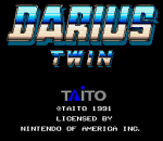 Darius Twin title screenshot