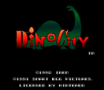 Dino City title screenshot