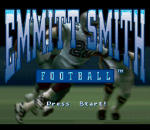 Emmitt Smith Football title screenshot