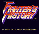 Fighter's History title screenshot