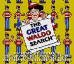 Great Waldo Search, The title screenshot
