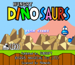 Hungry Dinosaurs title screenshot