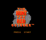 Hunt for Red October, The title screenshot