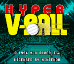 Hyper V-Ball title screenshot