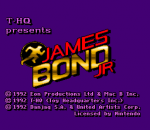 James Bond Jr. title screenshot