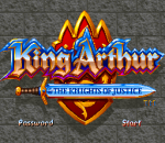 King Arthur & The Knights of Justice title screenshot