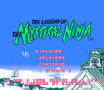 Legend of the Mystical Ninja, The title screenshot