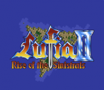 Lufia II - Rise of the Sinistrals title screenshot