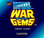 Marvel Super Heroes - War of the Gems title screenshot