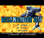 MechWarrior 3050 title screenshot