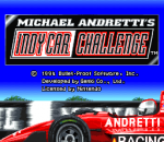 Michael Andretti's IndyCar Challenge title screenshot
