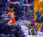 Might and Magic II - Gates to Another World title screenshot
