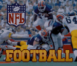 NFL Football title screenshot