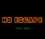 No Escape title screenshot