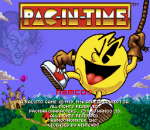 Pac-in-Time title screenshot