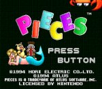 Pieces title screenshot