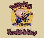 Porky Pig's Haunted Holiday title screenshot