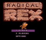 Radical Rex title screenshot