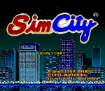 SimCity title screenshot