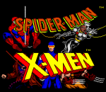 Spider-Man & X-MEN in Arcade's Revenge title screenshot