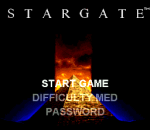 Stargate title screenshot