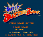 Super Buster Bros. title screenshot