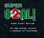 Super Goal! 2 title screenshot