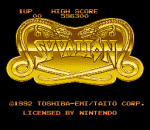 Syvalion title screenshot