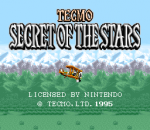 Tecmo Secret of the Stars title screenshot