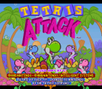 Tetris Attack title screenshot