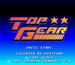 Top Gear title screenshot