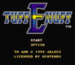 Tuff E Nuff title screenshot
