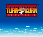 Turn and Burn - No-Fly Zone title screenshot