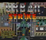 Urban Strike title screenshot