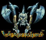 Weapon Lord title screenshot